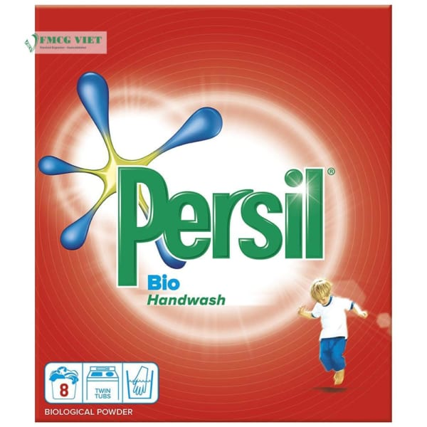 Persil Detergent Powder Bio Hand Wash 8w