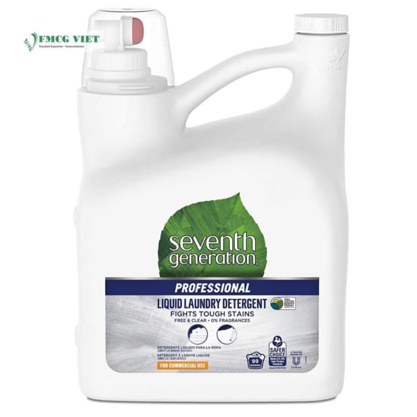 Seventh Generation Detergent Liquid Bottle 4.44l Professional