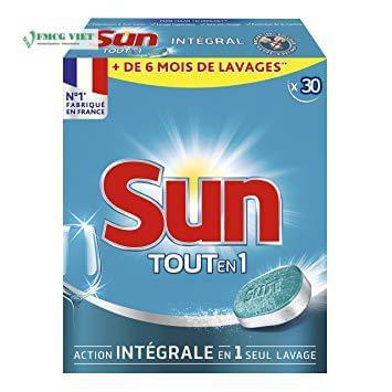 Sun All in 1 Dishwashing Tablets Regular 30p