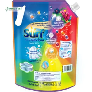 Surf Detergent Liquid Perfume Flower 3.1kg Bag