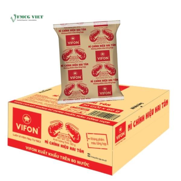 VIFON Instant Two Shirmp Noodles 60g