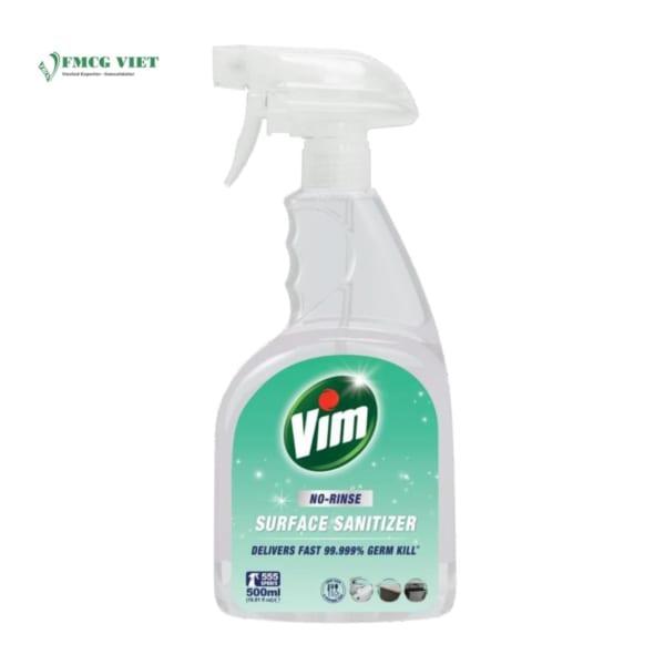 Vim Surface Cleaner Spray Bottle 500ml No Rise Sanitiser