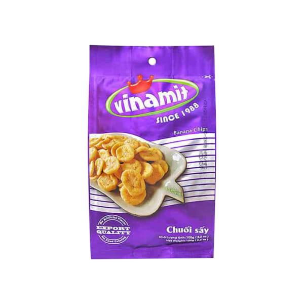 Vinamit Banana Fruit Chips 100g