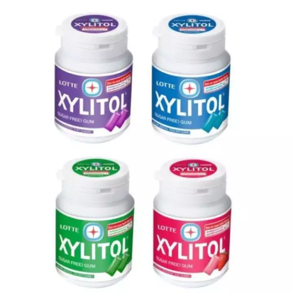 Lotte Xilitol Chewing Gum 58g All Variants