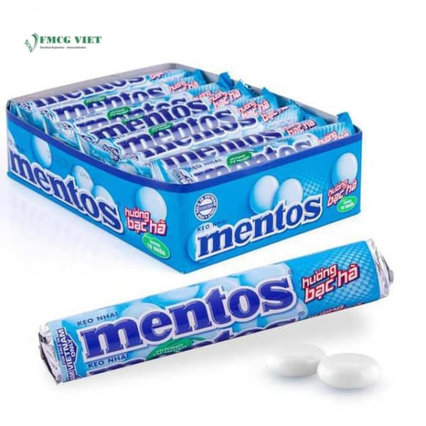 Mentos Chewy Candy Mint 475.2g Pack 16