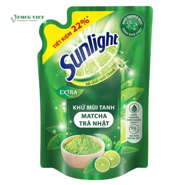 Sunlight Dishwash Pouch 750ml All Variants