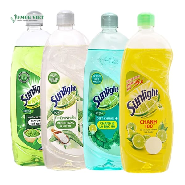 Sunlight Dishwashing Bottle 400g All Variants