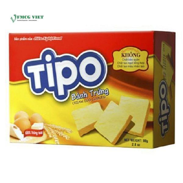 Tipo Cream Egg Cookies 80g