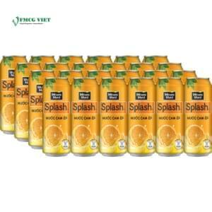 Minute Maid Splash Juice Drinks Can 320ml Orange x24