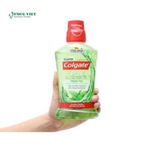 Colgate Plax Mouthwash Bottle 500ml Fresh Tea